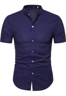 Camisa Toulouse - Azul