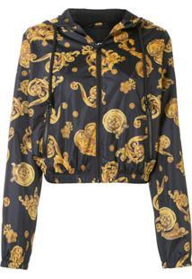 Versace Jeans Couture Jaqueta Com Estampa Barroca - Estampado