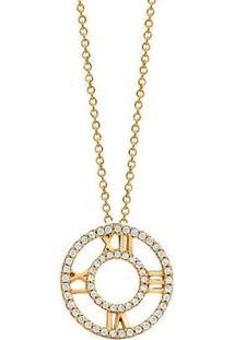 Colar Le Diamond Romano Dourado