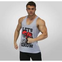 Camiseta Regata Cavada Metamorfose Brasil Lets Grow 80830a3edfe
