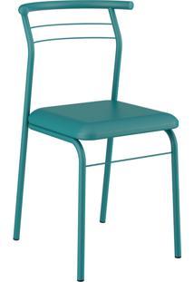 Kit 2 Cadeiras 1708 Napa Móveis Carraro Azul