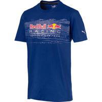 Camiseta Puma Red Bull Racing Logo Tee Masculina - Masculino 4c153e8bfce