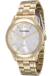 Relógio Analógico Mondaine Feminino - 83343Lpmvde1Kd Dourado - Único