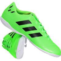d61854bb21 Chuteira Adidas Nemeziz Messi Tango 18.4 In Futsal Verde
