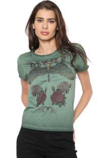 Camiseta Osmoze Trançado Verde