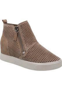 Sneaker Acamurçado- Marrom Claroarezzo & Co.