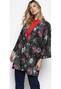 f95610e75541 Kimono Fashion Estampado Transpassado feminino | Shoes4you