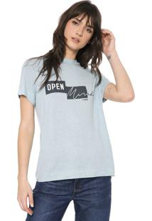 Camiseta Forum Open Azul