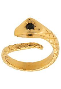 Nialaya Jewelry Anel Skyfall Snake - Dourado