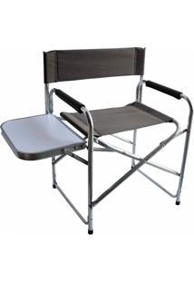 Cadeira Dobrável Nautika Diretor Com Mesinha Lateral - Unissex
