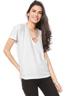 Camiseta Redley Strappys Branca
