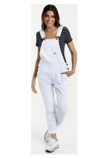 48329fc722 Macacão Feminino Jeans Botões Razon