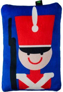 Travesseiro Soldado- Azul & Vermelho- 5X28X19Cm-Bright Starts