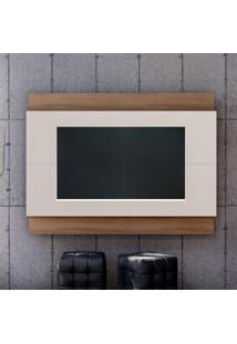 Painel Para Tv Até 65 Polegadas Expand I Off White E Noce