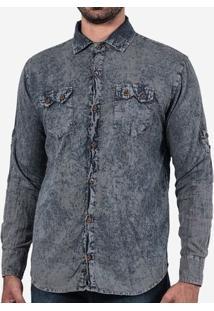 Camisa Jeans Estonada 200167