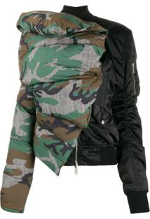 Unravel Project Deconstructed Padded Jacket - Preto