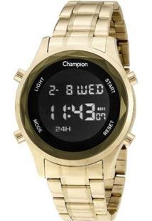 Relógio Champion Digital - Unissex-Dourado