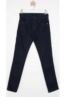 Calça Jeans Infantil Express Marcelo Masculina - Masculino-Azul