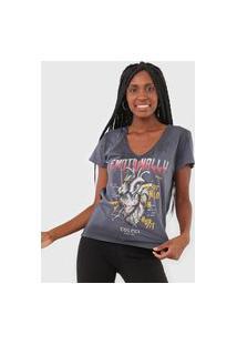 Camiseta Colcci Emotionally Grafite