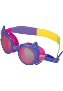 Óculos De Natação Speedo Cat - Infantil - Azul/Rosa