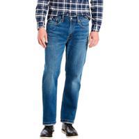 ea0a3f4f72de7 Calça Jeans Levis Masculino 514 Straight Indigo Média