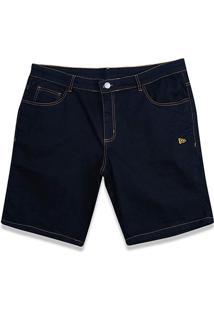 Bermuda Jeans New Era Denim Masculina - Masculino