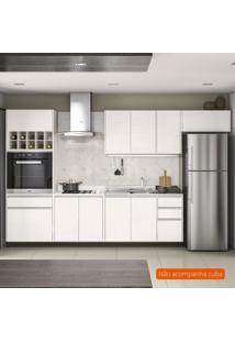Cozinha Compacta Mali 9 Pt 5 Gv Branca