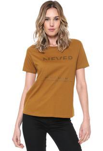 Camiseta Zoomp Lettering Amarela
