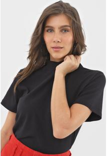 Camiseta Forum Recortes Preta - Kanui