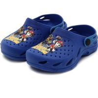 897ae9f9cc Clog Para Meninos Azul Sintetico infantil