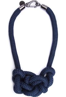 Colar Feminino Mis - Azul Marinho