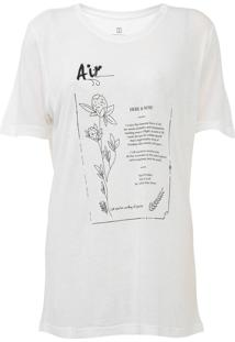 Camiseta Carmim Elements Off-White
