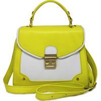 4ba51f67a Bolsa Amarela Couro feminina | Shoes4you