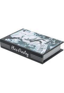 Livro Caixa Elvis Preto