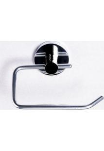 Porta Papel Higiênico Em Metal Belga Cromado Aquaplás