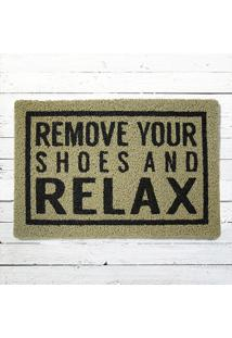 Capacho - Remove Your Shoes Bege