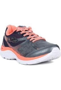 Tênis Esportivo Feminino Olympikus Like Running Coral