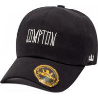 Boné Overking Aba Curva Dad Hat Strapback Compton Tag 1feecf98c6f7b