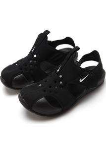 Sandália Nike Menino Sunray Protect 2 Preta