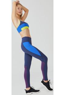 Legging Esportiva Color Block