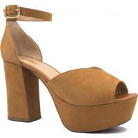 e6afb8ea10 Sandália Zariff Shoes Meia Pata Salto Alto