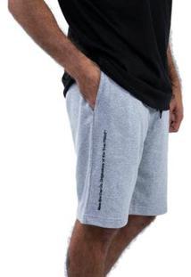 Bermuda New Era Moletom Fashion Codes Masculina - Masculino-Mescla Claro