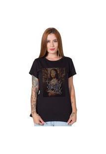 Camiseta Monalisa Downtown Preto