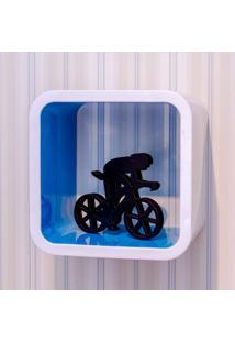 Nicho Quadrado De Plástico 31Cmx19,5Cm Astra Blueberry