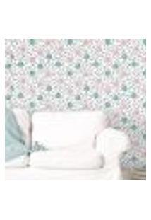 Papel De Parede Autocolante Rolo 0,58 X 3M - Floral 1430