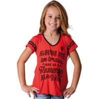 79c3e53cfd773 Camisa Flamengo Infantil Nation Braziline - Feminino