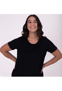 Camiseta Babylook Gola C Super - Feminino