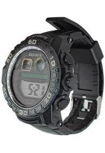 Relógio Digital Esporte Running Cronômetro E Luz Noturna - Unissex
