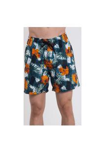 Bermuda Praia Short Masculino Suffix Com Bolsos Estampado Ref. 12