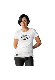 Camiseta Feminina Cellos Dawn Premium W Branco